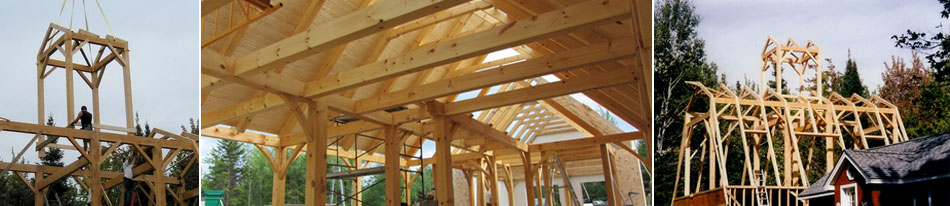 Green Mountain Post & Beam Timber Frame Photo Gallery